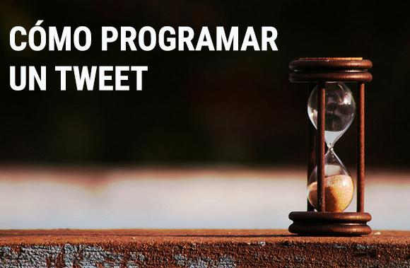 Cómo programar un tweet.