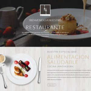 plantilla restaurantes divi
