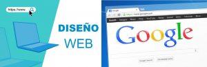 diseño web y posicionamiento en google