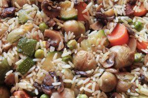 el mejor arroz con pato de Sevilla