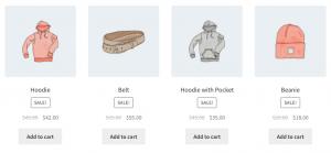 Código corto de WooCommerce Productos de venta