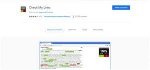 extencion chrome Check My Links