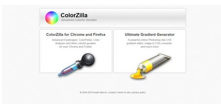 extension chrome ColorZilla