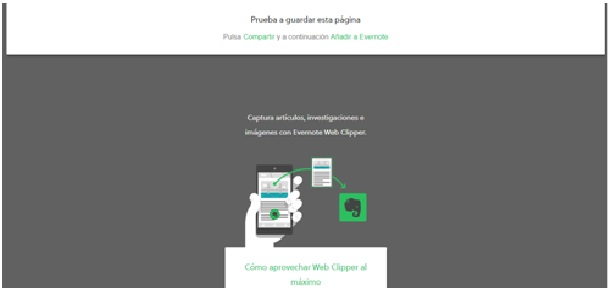extensiones chrome Evernote Web Clipper
