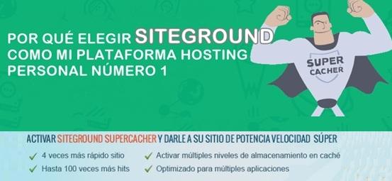 SiteGround como plataforma de hosting web