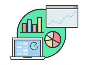 gráficos y estadísticas
