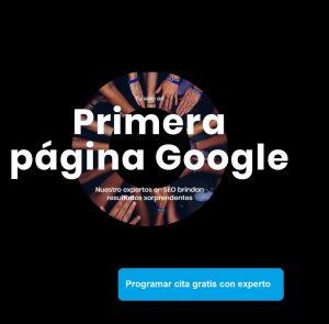 Tu web en primera pagina de Google