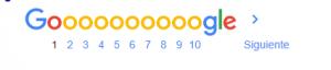 paginanación google