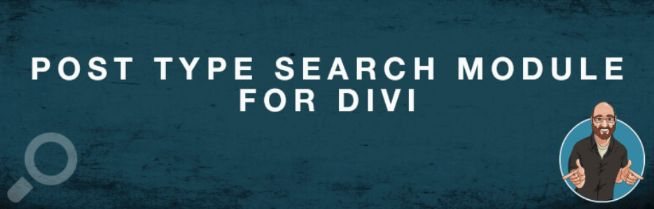 POST TYPE SEARCH DIVI