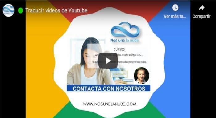 traducir videos