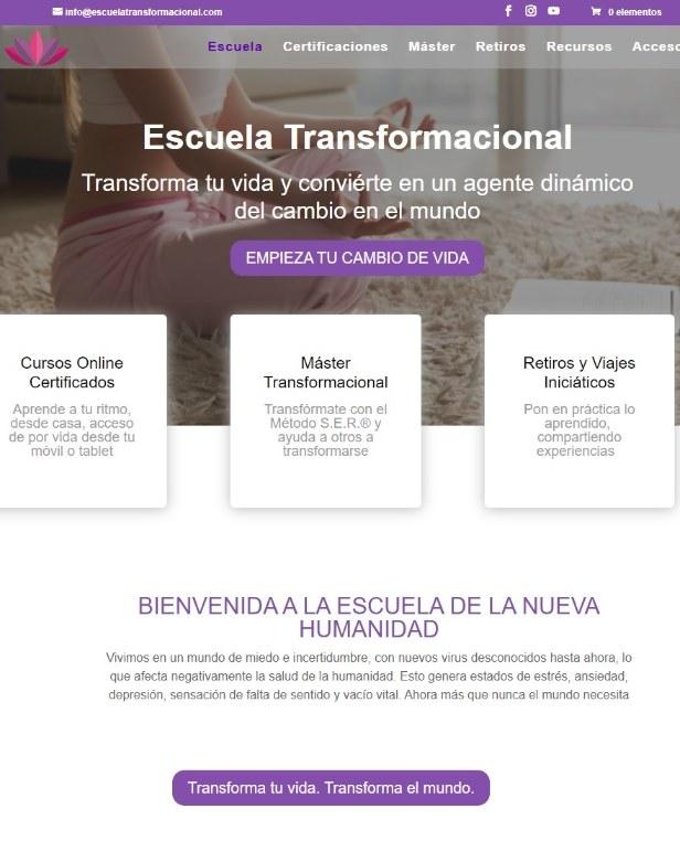 WEB ESCUELA TRANSFORMACIONAL